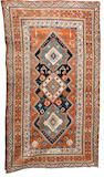A Khamseh rug South West Persia, 8 ft 8 in x 4 ft 11 in (265 x 150 cm)