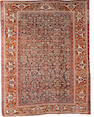 A Kashgai carpet South West Persia, 9 ft 5 in x 7 ft 5 in (288 x 227 cm) some minor losses at each end