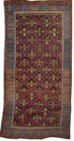 A Karabagh khelleh South Caucasus, 16 ft 11 in x 8 ft 4 in (516 x 254 cm) reduced in size and some restoration