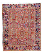 A Heriz carpet, North West Persia 11 ft 3 in x (343 x 272 cm)