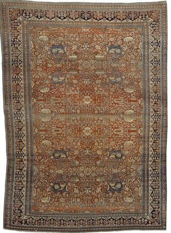 A Mohtashem Kashan carpet Central Persia, 14 ft x 10 ft (427 x 305 cm) some minor wear