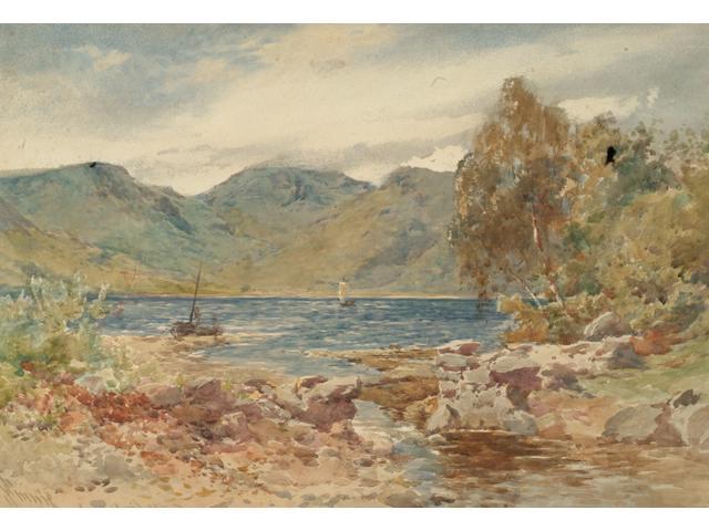 John Finnie (1829 - 1907) 'Loch Goil Head',