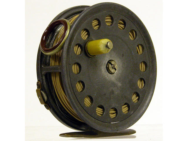 A Hardy the 'St. George' early model, alloy fly reel 3¾in