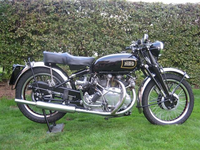 1947 Vincent HRD 998cc Rapide Series B  Frame no. R2257 Engine no. F10AB/1/258