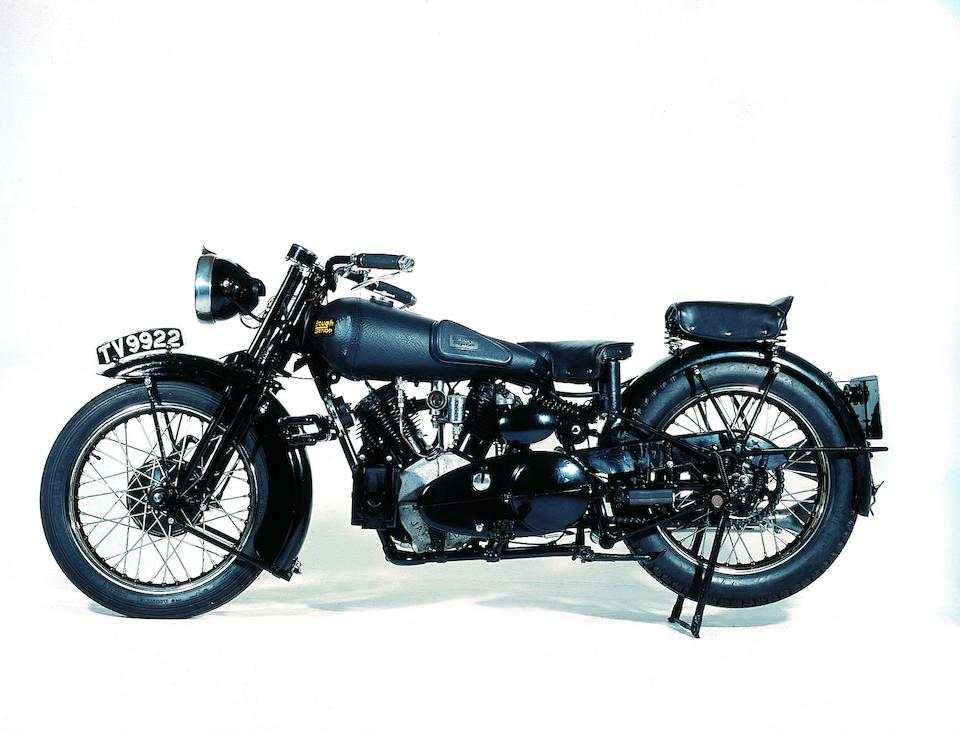 1934 Brough Superior 11-50  Frame no. H1347 Engine no. LTZ/D 34927S