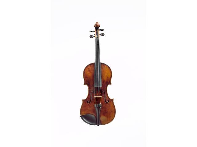 An Italian Violin by Josef, Filius Andreae, Guarneri, Cremona, circa 1710