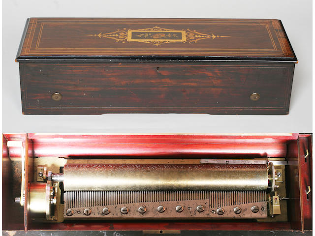 A B A Bremond piano forte musical box
