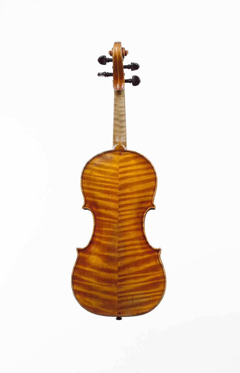 An Italian Violin circa 1710, probably by Petrus Guarnerius, Mantua