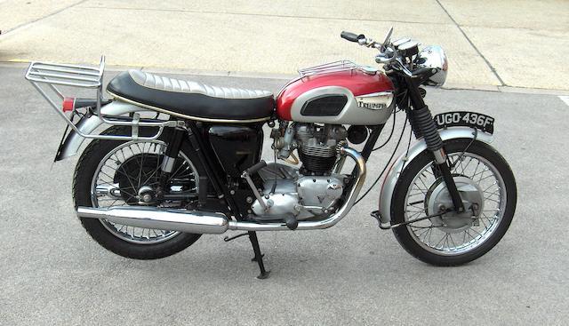 1968 Triumph 649cc T120 Bonneville