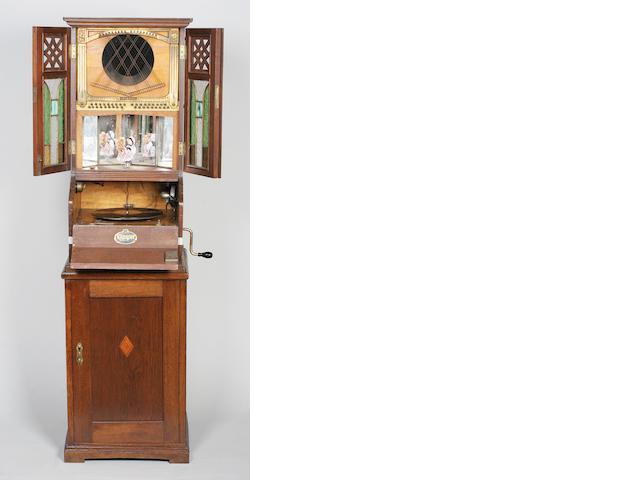 A rare Klingsor gramophone,