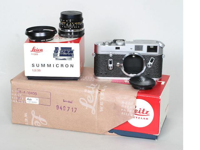 Leica M4 camera