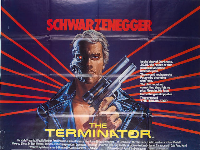 Terminator, The 1984 UK Quad