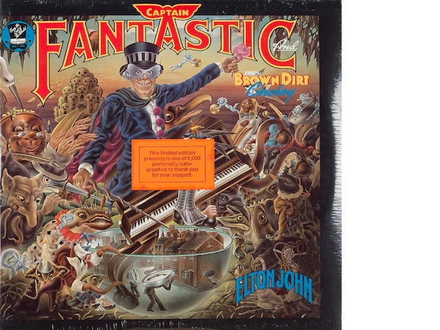 A limited edition of the album 'Captain Fantastic And The Brown Dirt Cowboy',