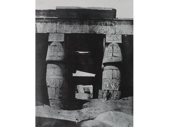 DU CAMP (MAXIME) 'Égypte, Nubie, Palestine et Syrie. Dessins photographiques recueillis pendant les