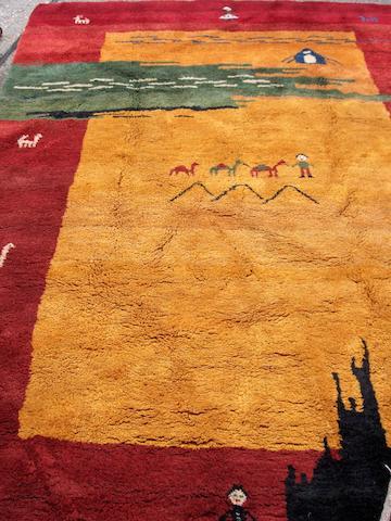 A Gabbeh carpet 301cm x 208cm