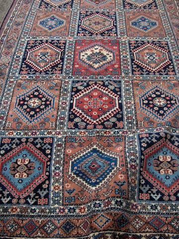 A Shiraz design rug 261cm x 160cm
