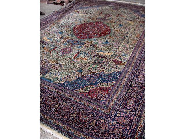 A Tabriz carpet North West Persia, 442cm x 305cm