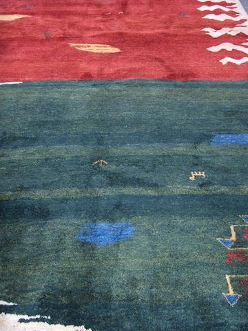 A Gabbeh carpet 284cm x 200cm
