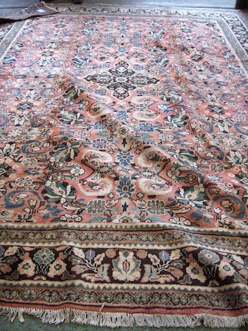 A Mahal carpet West Persia, 390cm x 280cm