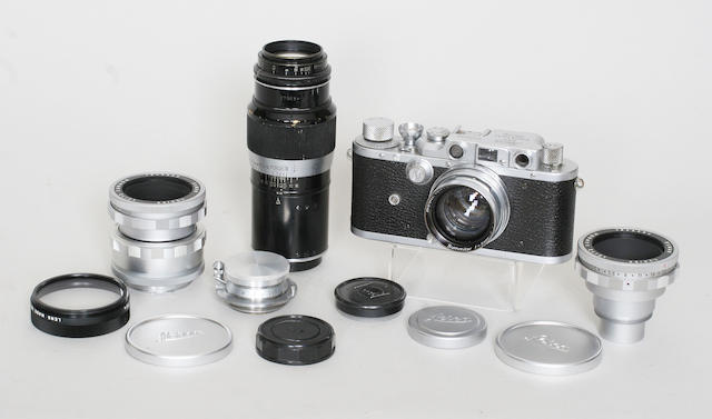 Leica cased outfit
