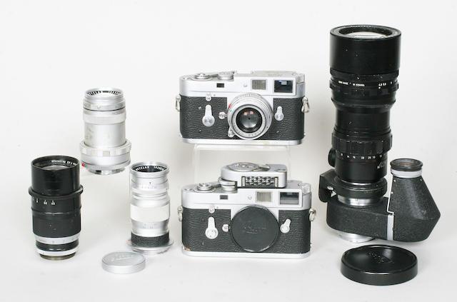 Leica M2 cameras