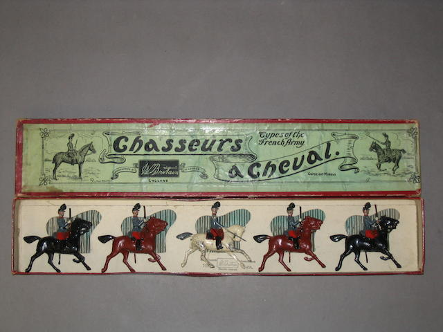 Britains set 139, French Chasseurs a Cheval 5