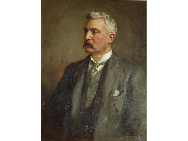 Sir James Guthrie (1859-1930). George Lennox Watson. 2