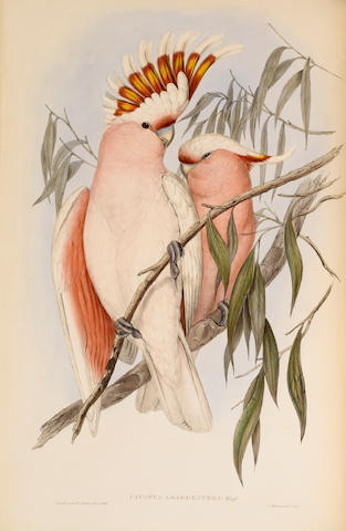 GOULD (JOHN) The Birds of Australia, 7 vol. together with the Supplement in 5 original parts