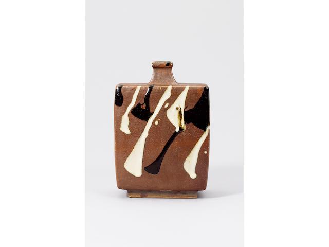 Hamada Shoji a Bottle Vase Height 22.8cm (9in.)