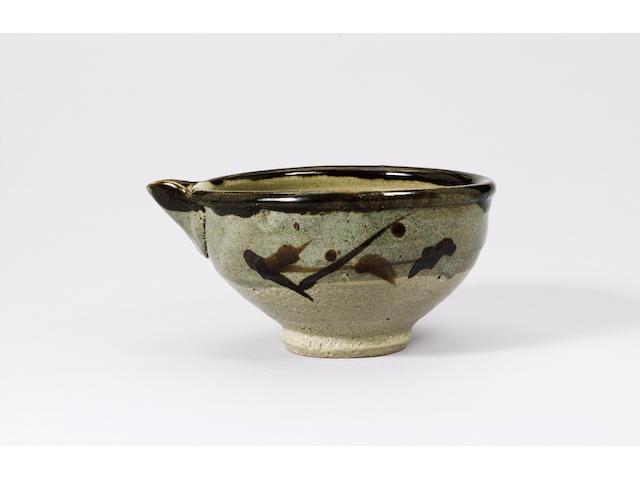 Hamada Shoji a pouring Bowl Width 22cm (8 5/8in.)