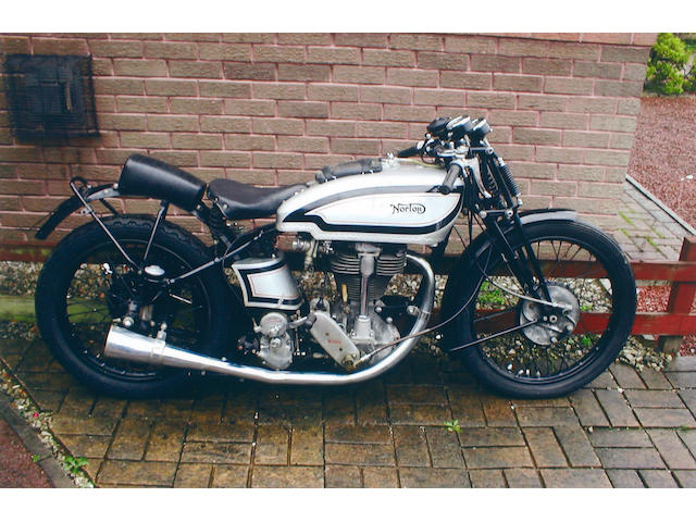 Property of a Deceased's Estate,1937 Norton 498cc International 'Manx Grand Prix'