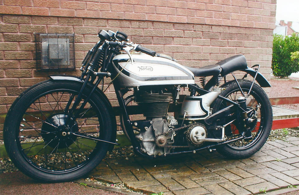 Property of a Deceased's Estate,1937 Norton 498cc International 'Manx Grand Prix'  Frame no. 84697 Engine no. 81549