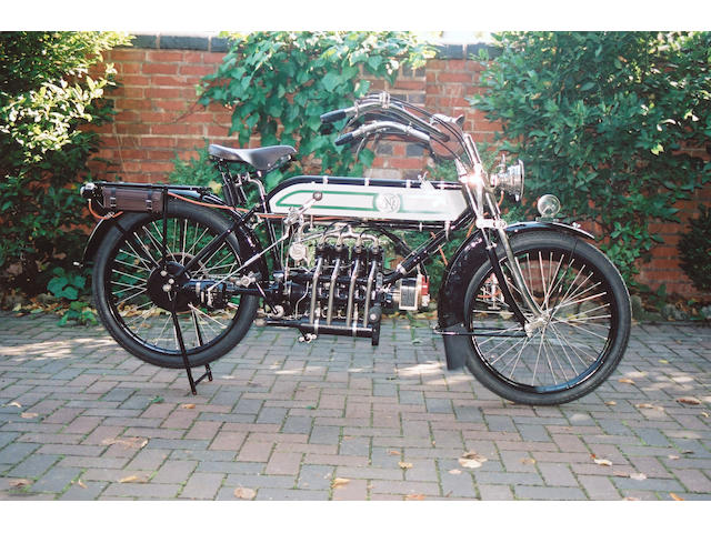 1913 FN Four cylinder,1913 FN 5hp Four Cylinder