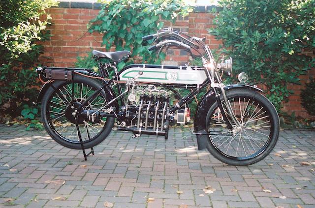 1913 FN Four cylinder,1913 FN 5hp Four Cylinder  Frame no. 50754 Engine no. 547