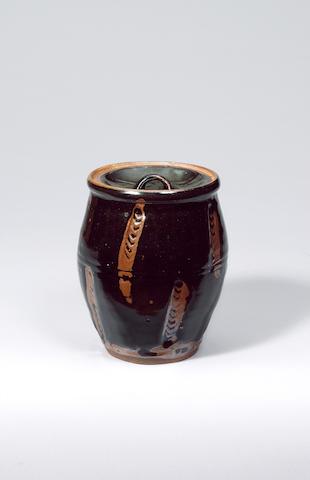 Hamada Shoji a Misuzashi or Water Pot Height 20cm (7 7/8in.)