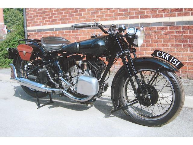 1935 Brough Superior 1,096cc 11-50hp  Frame no. 8/1464 Engine no. LTZ/R44987/S