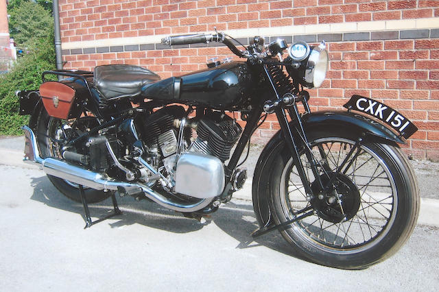 1935 Brough Superior 1,096cc 11-50hp  Frame no. 8/1464 Engine no. LTZ/R44987/S