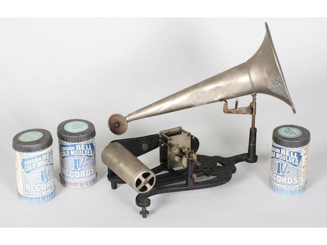 A Puck phonograph