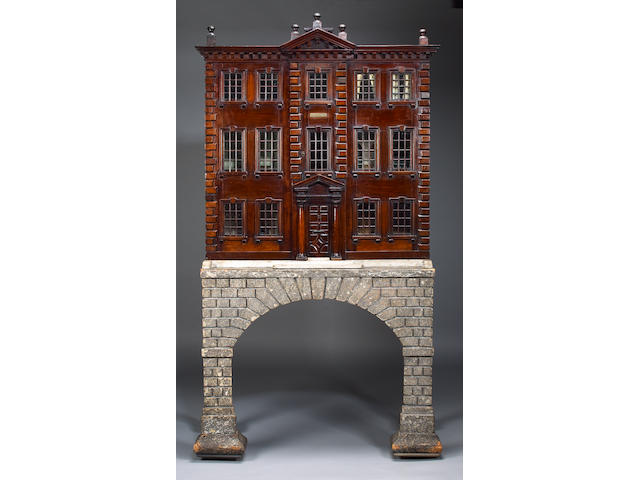 An 18th century Dolls House of classic design