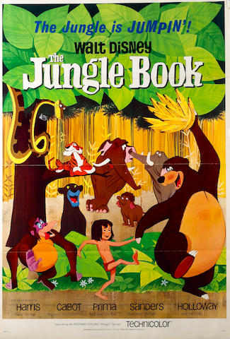 Jungle Book, The 1967 US One Sheet