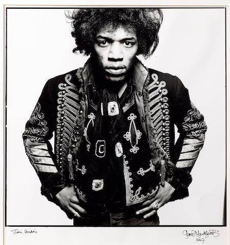 Gered Mankowitz: Jimi Hendrix, 1967,
