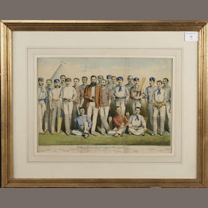 Famous English Cricketers, 1880