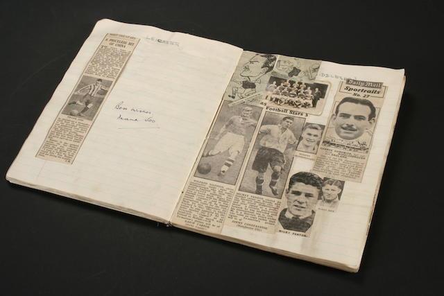 A 1940s scrapbook