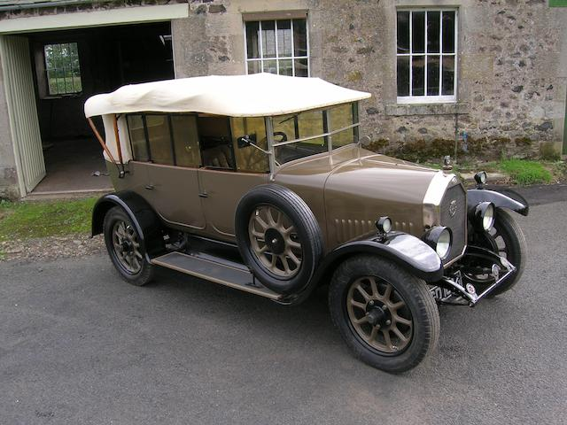 1926 Humber 12/25hp Tourer  Chassis no. 12033 Engine no. 12024