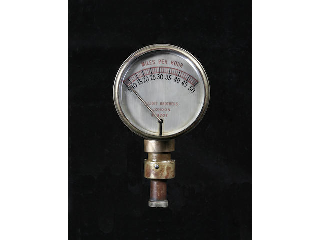A speedometer by Elliot Brothers,