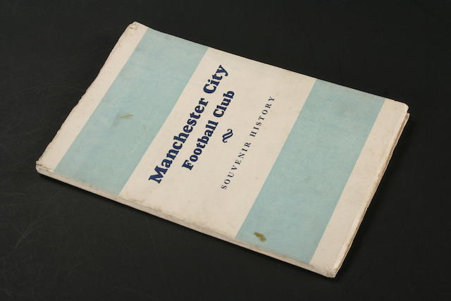 A Manchester City souvenir book, 1930