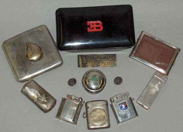 A quantity of smoking related items,