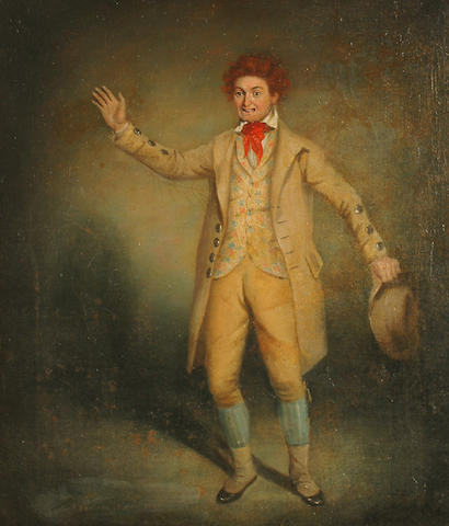 John Pairman (British, 1788-1843) An actor