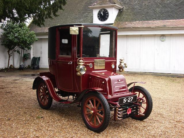By order of the Executors of the late Lord David Strathcarron,1903 Georges Richard Type H 10hp Twin Cylinder Two Seater Brougham  Chassis no. H 288 Engine no. 1215B