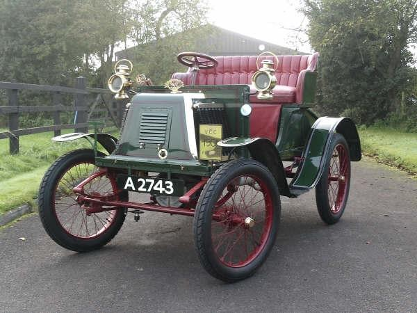1901 Renault 4 1/2hp Type D Series E Two Seater Voiturette  Chassis no. 023 Engine no. 4749